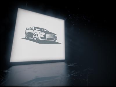 Lightbox logo mockup