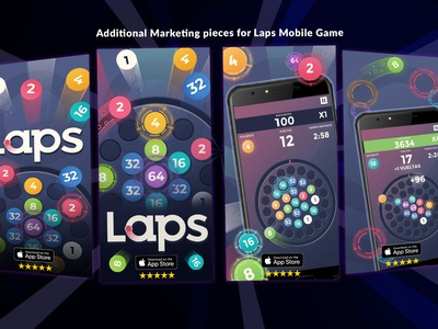 Marketing visual work for mobile game