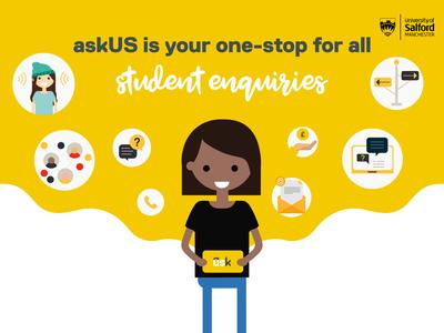 askUS Promotion Campaign