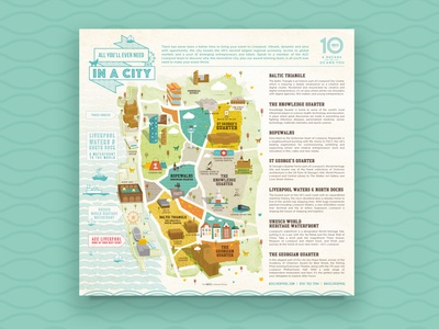 Illustration map / Branding