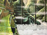 Green valley digital children book illustration
