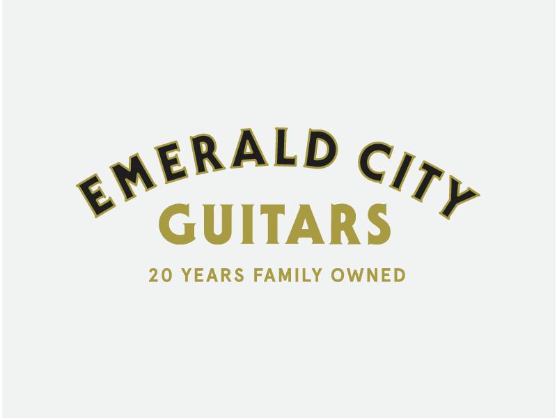 Emerald City Guitars 01 By Elliott Snyder On Dribbble