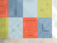 Modern Activity poster set