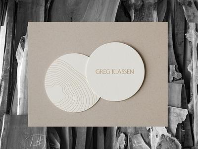 Greg Klassen branding pattern typography identity logo