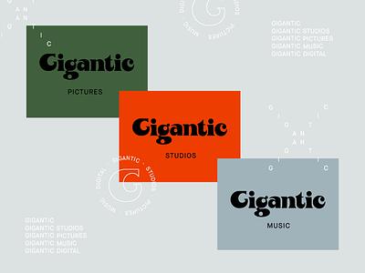 GIGANTIC 02 system identity logo