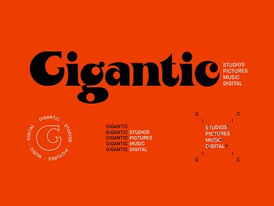 GIGANTIC 01 system identity logo