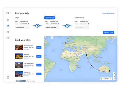 Plan + Book + Travel