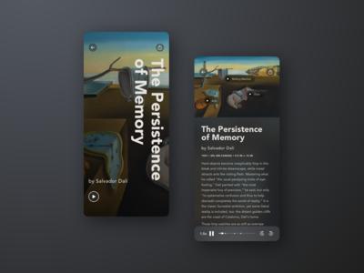 Museum Audio Guide Concept