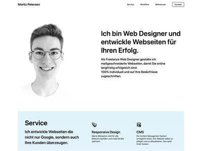 Personal Freelance Webdesign Website