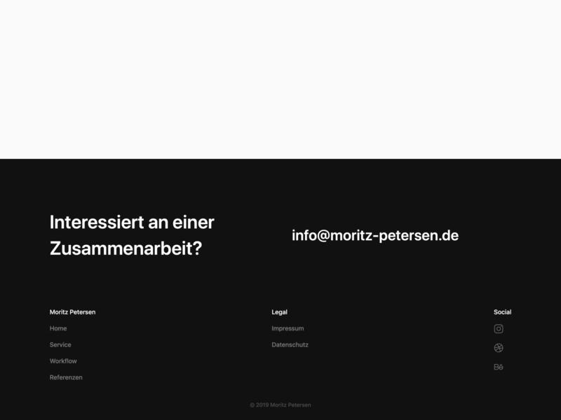 Footer for my personal site landingpage freelancer webdesigner webflow uiux website webdesign footer design footer