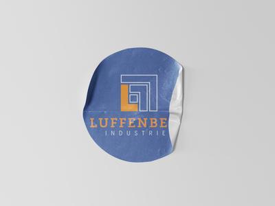 Luffenberg Sticker Mockup branding design logo design logodesign logo