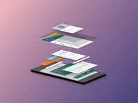 Material design on Microsoft Office Apps