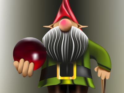 Duende texture night fat person green sphere ball magic oscure design background illustrator illustration duende