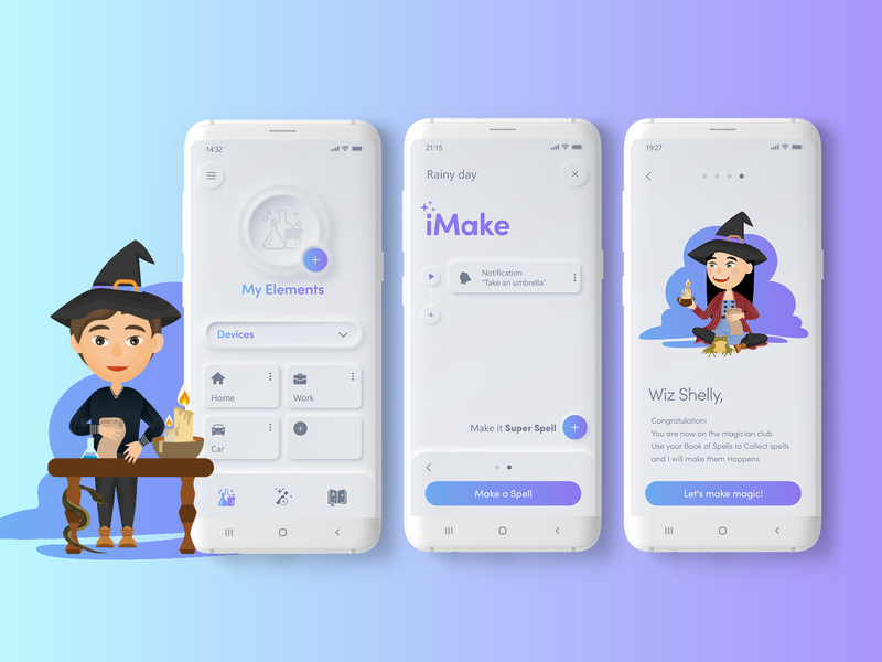 iMake a Spell casestudy case study designer design art experience interface product design copywriting concept typogaphy vector branding logo photoshop illustrator xd ux ui design app