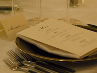 Menu and Placecards