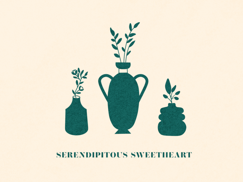 Illustration for Serendipitous Project's tote bags minneapolis design branding typography illustration
