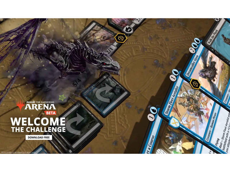 Magic: The Gathering Arena Online Ad by Helen Wight