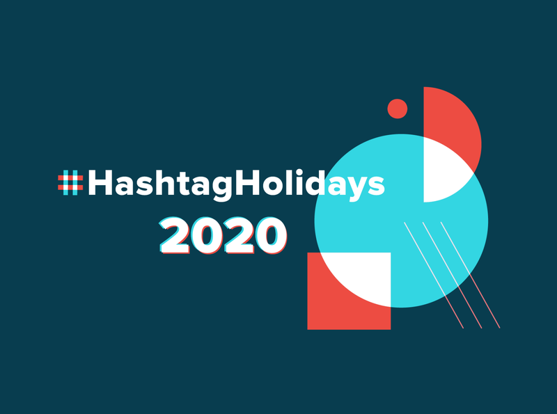 Hashtag Holidays campaign identity