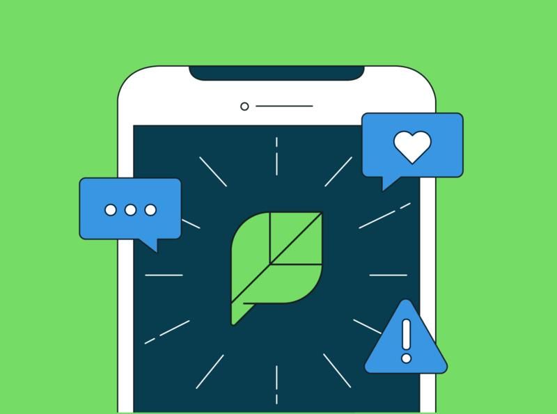 Sprout Social Crisis Management saas crisis-management sprout-social illustration vector flat design