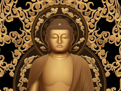 Buddha Sketch Illustration