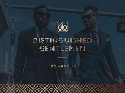 Distinguished Gentlemen - identity design
