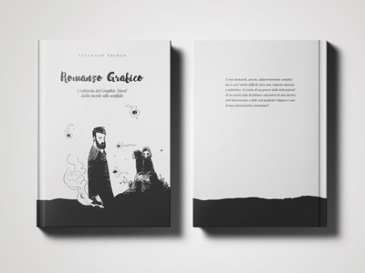 Romanzo Grafico | Book design illustration blackwhite comics graphic novel layout book book design