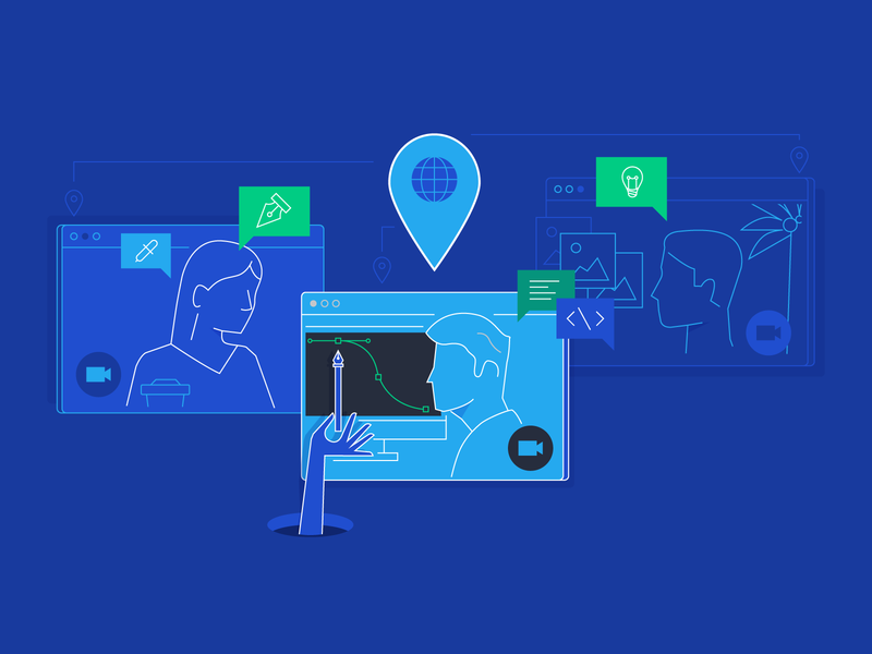30 Toptal Designer Tips on Working Remotely and Design app mobile business product ui design ux design product design design user experience remote working remote work