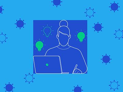 Stay Sharp – How to Boost Creativity During a Quarantine creative design creativity branding logo product design illustration product design ui