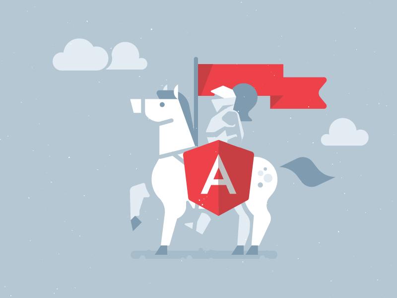 Angular JS Developers  developer illustration toptal angular js
