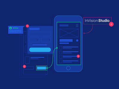 Prototype with Ease - An InVision Studio Tutorial usability product design user experience ui design ux design ux ui illustration