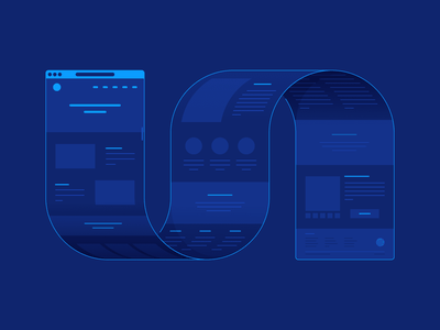 Take It to the Limit - an Overview of Long Scroll Websites usability product design user experience ui design ux design ux ui illustration