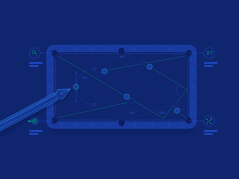 Design Strategy – A Guide to Tactical Thinking in Design usability product design user experience ui design ux design ux ui illustration