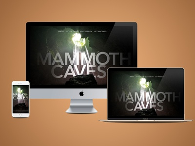 Mammoth Caves National Park Website Redesign