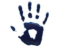 Ink Hand Print