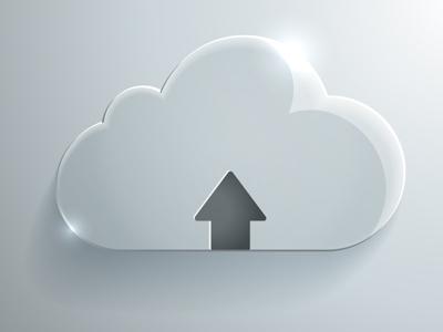 Vector Glass Cloud Icon glass icon cloud icon upload icon illustrator tutorial