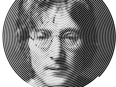 John Lennon john lennon beatles vector spiral raster script shellac music yellow submarine vinyl