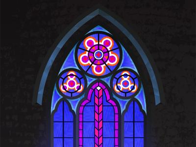 Gothic Window illustrator plug-in colliderscribe vector