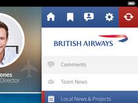 British Airways iPad App