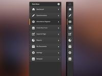 iPad App Sidebar Design