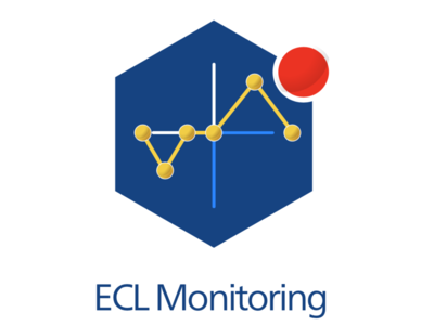 ECL2.0 Monitoring Service Icon brand identity illustrator web ux app vector typography minimal flat design branding web app design logo illustration icon cloud app