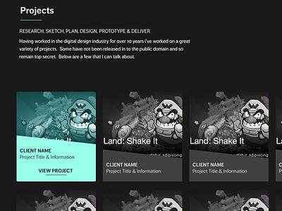 New Portfolio portfolio personal site branding homepage graphic design