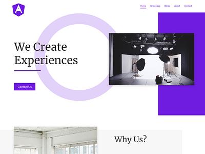 Landing Page webdevelop ui designer web minimal webdesign ui design webdevelopment website uidesign ui ux