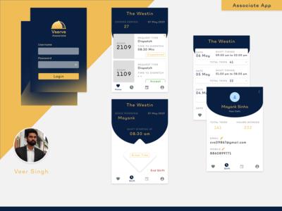 Vserve Associate App