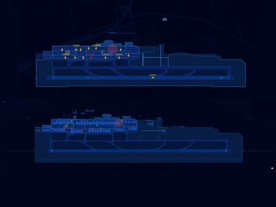 Airport visualization
