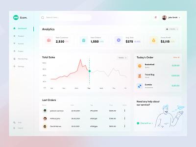 E-Commerce Web Application v2 webuiuxdesign financial dashboard ui ecommerce branding illustration design typogaphy webui ui uxdesign minimal interface