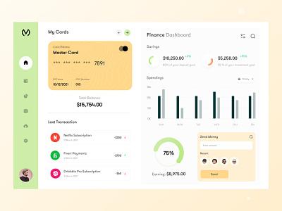Finance Web Application uiuxdesign ux research application design dashboard design dashboad webapp logo user interface design typogaphy ui webui uxdesign minimal interface finance app finance