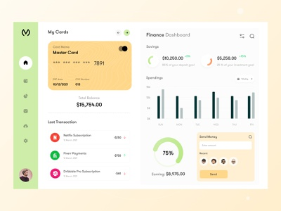 Finance Web Application uiuxdesign ux research application design dashboard design dashboad webapp logo user interface design typogaphy ui webui uxdesign minimal interface finance app finance