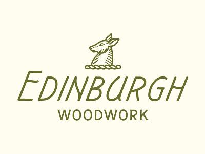 Edinburgh Woodwork woodwork edinburgh hand lettering lettering illustration