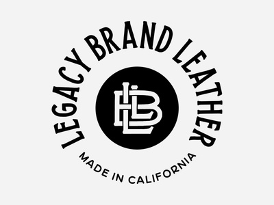 Legacy Brand Leather Badge