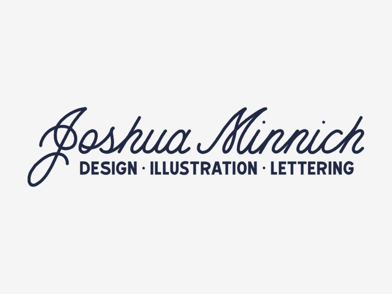 Personal Branding script design illustration hand lettering lettering